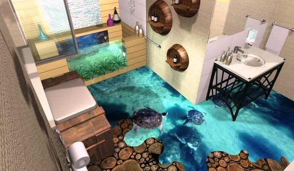 Ванная комната оригинальный дизайн